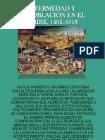Enfermedad y Despoblación en El Caribe, 1492–1518