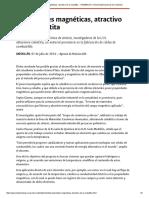 Propiedades Magnéticas, Atractivo de La Cobaltita -UNIMEDIOS_ Universidad Nacional de Colombia