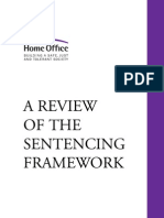 A Review of the Sentencing Framework