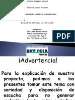 Presentación Proyecto de Grado Esfínteres Anales y Uretrales 2016