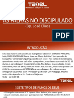 TADEL SLIDE - Semana 32 - 06.08 - As falhas no Discipulado.pptx