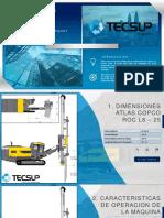 Reyes - Perforadora Atlas Copco ROC L8 - 25