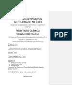 Síntesis de Compuestos Organometálicos de Molibdeno