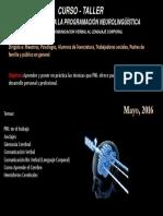 cartel programación neurolinguistica