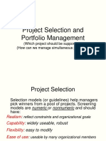 Project Selection and Decision