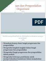 Bab 14 Pengawasan Dan Pengendalian Organisasi