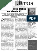 Jornalivros / Um Socialista Chinês no Século XI