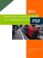 Sistema de Acueducto Rural en El Regimiento de Santa Lucía