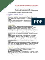 Descripcion Macroscopica de Preparados Anatomia Patologica