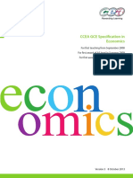 Ccea a Level Economics Specification