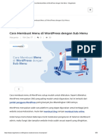 Cara Membuat Menu di WordPress dengan Sub Menu - Niagahoster.pdf