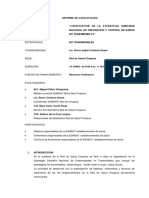 Informe Final de Capacitación