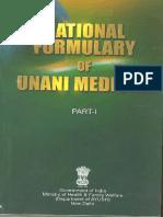 National Formulary of Unani Medicine Part I