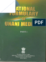 National Formulary of Unani Medicine Part I