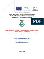 Advanced Methods of Numerical Simulation of Metallurgical Processes