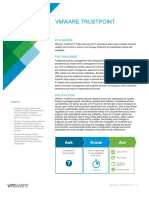 Vmware Trustpoint Solution Overview