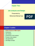 Chapter 2 Job Analysis & Design