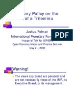 MonetaryPolicy21may08- pooja