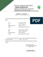Surat Tugas Efri
