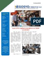 Leyte Negosyo Chronicle 2nd Issue