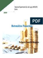 Matematica Financiera- Tema 1