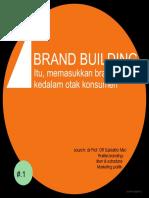 Subiakto - Brand Building