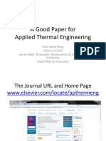 A Good Paper for Applied Thermal Engineering (1)