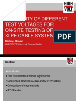FR4 Suitability of Different Test Voltages for on Site Cable Testing Rev00