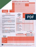 DST-J. Cuadernillo de Anotación