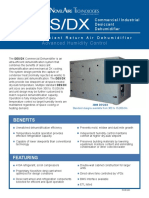 Dehumidifier DESDX Tech Data