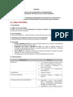 Convocatoria para CAS N° 12-2016-SERNANP-SEGUNDA CONVOCATORIA