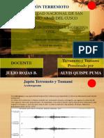 Terremoto de Sendai 11 de Marzo 2011