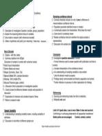 14 Checklist
