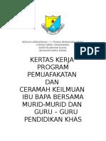 Kertas Kerja Prgm Permuafakatan 2017