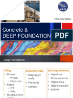 Deep Foundations and Concrete 2017