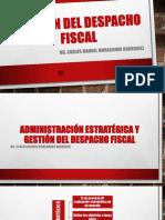 UNIDAD III GESTIÓN DEL DESPACHO FISCAL