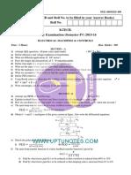 Electrical Machines Controls Nee 409 Eee 409 2015 16