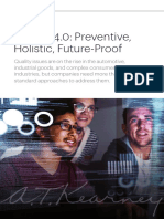 Quality 4.0 Preventive Holistic Future-Proof - A.T. Kearney Korea LLC