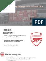 Dynamic Pricing for a football club