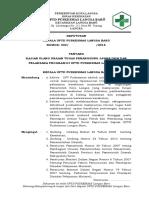 5.3.3.1 Sk Ttg Kajian Uraian Tugas Penanggung Jawab Ukm Dan Pelaksana Program Di Puskesmas