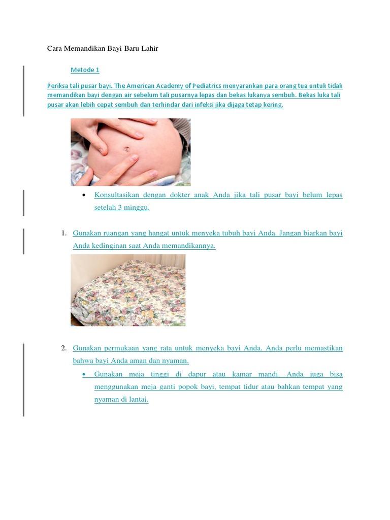 6a52d216ca Cara Memandikan Bayi Baru Lahir.docx