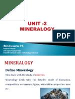 Mineralogy