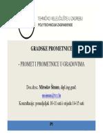 PROMET I PROMETNICE U GRADOVIMA