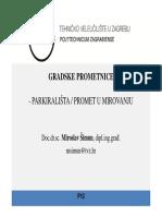 PARKIRALIŠTA / PROMET U MIROVANJU
