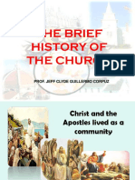 Brief History of the Church