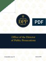 ODPP Newsletter Issue 78 - January 2018