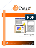 Manual Del Usuario de Petra