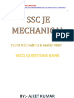 Fluid Mechanics Question Bank