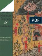 Edvin Binney-Turkish Miniature Paintings Manuscripts Türk Minyatürü El Yazmaları