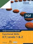 Functional Skills SAMs ICT Level 1 2 Booklet 2010